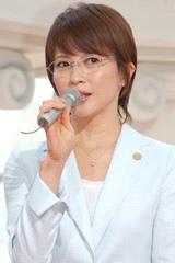 ドラマ『7人の女弁護士』の記者会見に出席した三浦理恵子