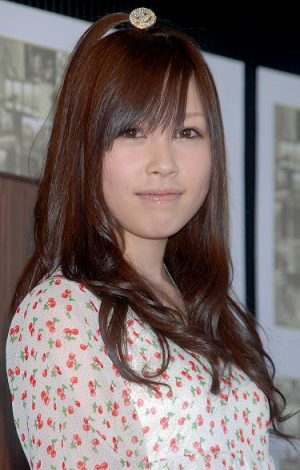 2008年度東京タワーイメージガールお披露目会に出席した中西里菜