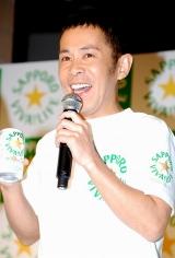 『サッポロVIVA LIFE』CM記者発表会に出席した岡村隆史