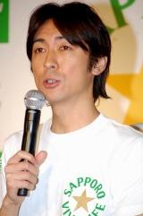 『サッポロVIVA LIFE』CM記者発表会に出席した矢部浩之