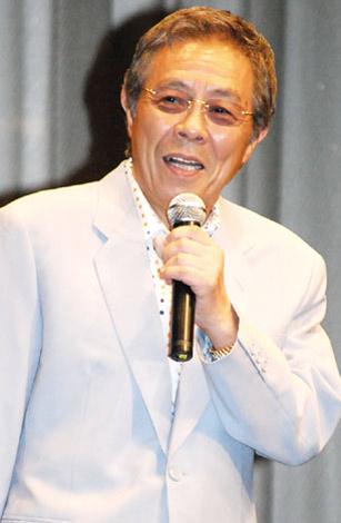 北島三郎(07年8月21日、映画『スキヤキ・ウエスタン ジャンゴ』完成披露試写会での様子)