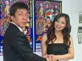 (写真左)ハッスルエンターテインメント山口日昇社長