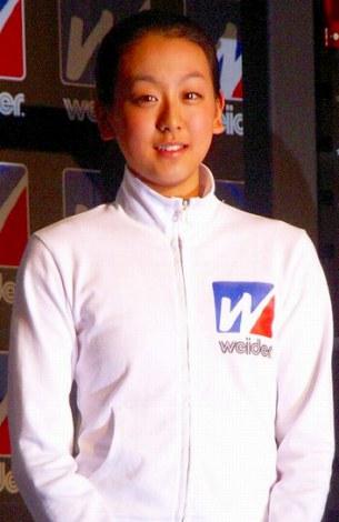 「今年飛躍すると思う18歳」ランキング1位の浅田真央(08年3月撮影)