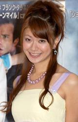 映画『ミスト』の試写会に出席した八田亜矢子