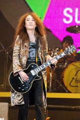 ゲスト出演した、X JAPANのギタリスト・PATA