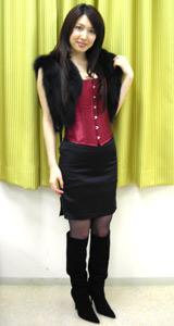 都内で行われた映画『シューテム・アップ』の試写会に登場した小林恵美