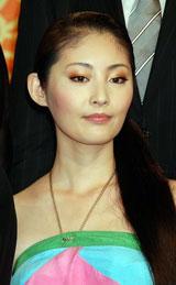 NHK大河ドラマ『天地人』の出演者発表会見に出席した常盤貴子