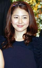 NHK大河ドラマ『天地人』の出演者発表会見に出席した長澤まさみ