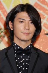 NHK大河ドラマ『天地人』の出演者発表会見に出席した玉山鉄二