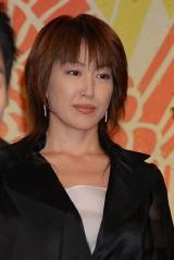 NHK大河ドラマ『天地人』の出演者発表会見に出席した高島礼子