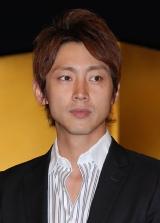 NHK大河ドラマ『天地人』の出演者発表会見に出席した小泉孝太郎