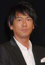 NHK大河ドラマ『天地人』の出演者発表会見に出席した東幹久