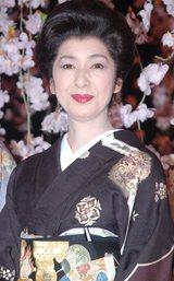 舞台『細雪(ささめゆき)』の公演直前通し稽古に出席した高橋惠子