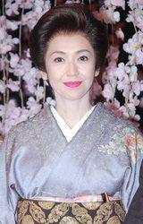 舞台『細雪(ささめゆき)』の公演直前通し稽古に出席した賀来千香子
