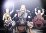 アニメ版『デトロイト・メタル・シティ』(C)2008 アニメ「デトロイト・メタル・シティ」製作委員会
