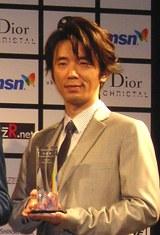 短編映画祭「ショートショート フィルムフェスティバル & アジア 2008」のオープニングセレモニーに出席したユースケ・サンタマリア