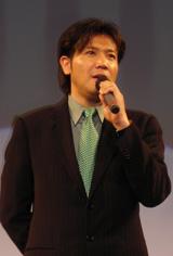 短編映画祭「ショートショート フィルムフェスティバル & アジア 2008」のオープニングセレモニーに出席した別所哲也