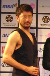 短編映画祭「ショートショート フィルムフェスティバル & アジア 2008」のオープニングセレモニーに出席した浅野忠信