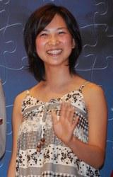 映画『神様のパズル』の初日舞台挨拶に出席した谷村美月
