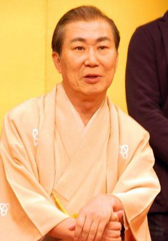 『KOZA〜上方落語伝説in〜東京』の記者会見に出席した桂三枝