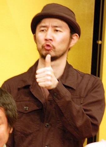『KOZA〜上方落語伝説in〜東京』の記者会見に出席したお〜い!久馬(ザ・プラン9)