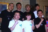 (前列左より)酒井敏也、南野陽子、近藤芳正、(後列左より)山西淳、光石研、前田健、峯村リエ