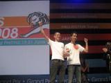 カンヌ国際広告祭でのグランプリの受賞シーン