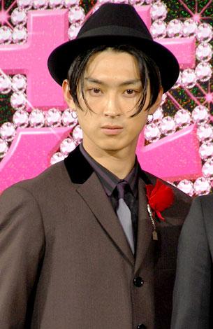 映画『花より男子 ファイナル』完成披露試写会前の会見に登場した松田翔太