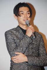 映画『花より男子F ファイナル』の初日舞台挨拶に出席した松田翔太