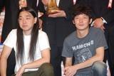 『オートバックス M-1グランプリ2008』の開催決定プレス発表会に出席したPOISON GIRL BAND