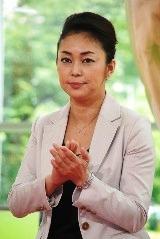 テレビ朝日系ドラマ『ロト6で3億2千万円当てた男』の制作発表会見に出席した中島知子(オセロ)