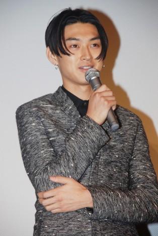 舞台挨拶での松田翔太(08年6月撮影)