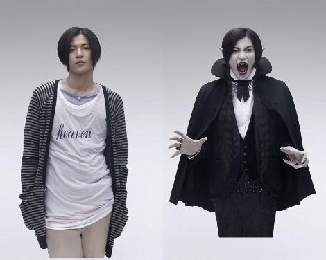 変身前→変身後