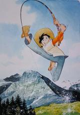 老若男女に愛される釣り漫画『釣りキチ三平』