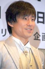 ミュージカル『ドロウジー・シャペロン』の製作発表会見に出席したなだぎ武