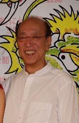 映画『蛇にピアス』の完成報告会見に出席した蜷川幸雄監督