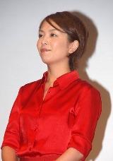 『北京オリンピック 民放テレビ放送』の記者発表会に出席した武内絵美アナ(テレビ朝日)