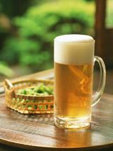 やっぱり夏は、ビールと枝豆!