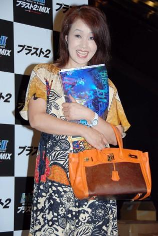 舞台『ブラスト2:MIX』の東京公演初日に来場した清水よし子