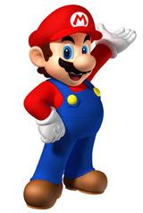 1位のマリオ(C)Nintendo