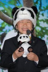 旺志郎(弟)の子供らしい笑顔は大人の心を癒してくれる