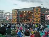 『RISING SUN ROCK FESTIVAL 2008 in EZO』サンステージの様子
