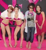 映画『セックス・アンド・ザ・シティ』のジャパンプレミアに登場したチェリー☆パイとクワバタオハラ