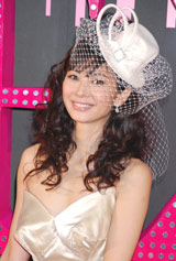 映画『セックス・アンド・ザ・シティ』のジャパンプレミアに登場した伊東美咲