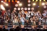 初の野音ライブが大成功のAKB48