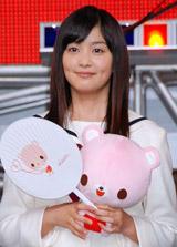 ケータイ小説の映像化『赤い糸』の撮影報告イベントに登場した石橋杏奈
