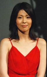映画『K-20 怪人二十面相・伝』の製作報告会見に出席した松たか子