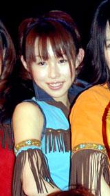 """""""大堀めしべ""""とソロデビューすることを発表したAKB48・大堀恵[08年2月撮影]"""