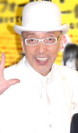 好きなコメンテーター2連覇を達成した、テリー伊藤[08年3月撮影]