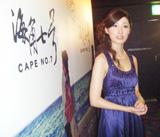 映画祭りでグランプリを獲得した田中千絵【2008年9月撮影】